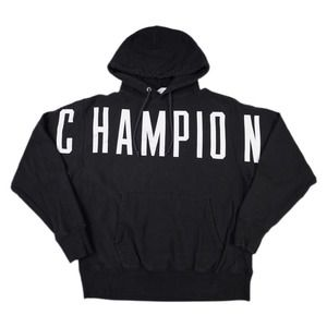 Modern Spell Out Champion Reverse Weave Hoodie